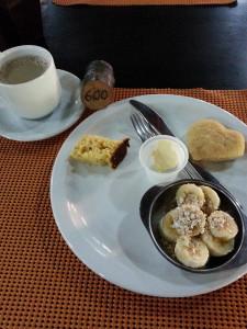 Café da manhã...